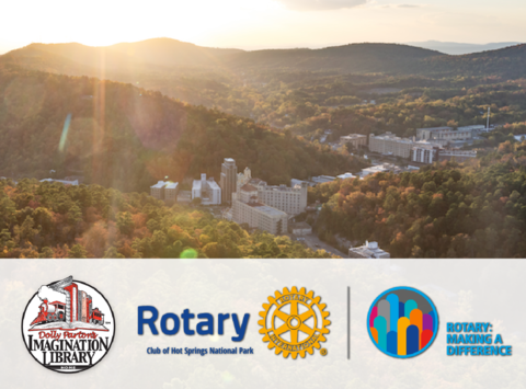 rotary club fundraising - Hot Springs National Park Rotary Club - Imagination Library 2017
