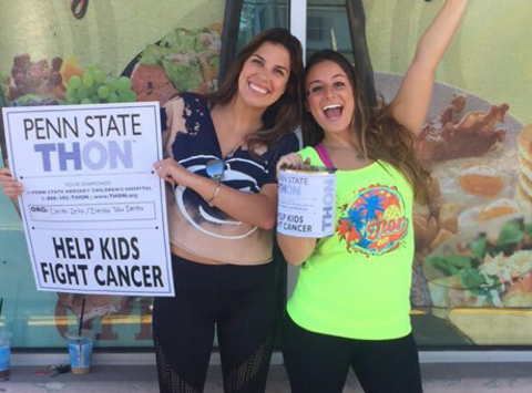 Help Gabby & Christine Dance in THON