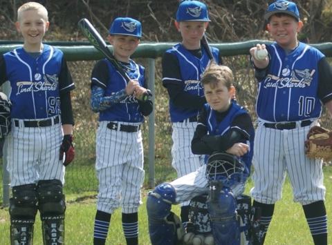 baseball fundraising - 10U Landshark Black