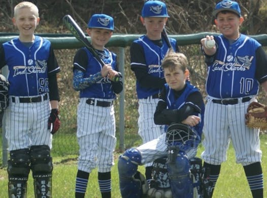 baseball fundraising - 12U Landshark Black