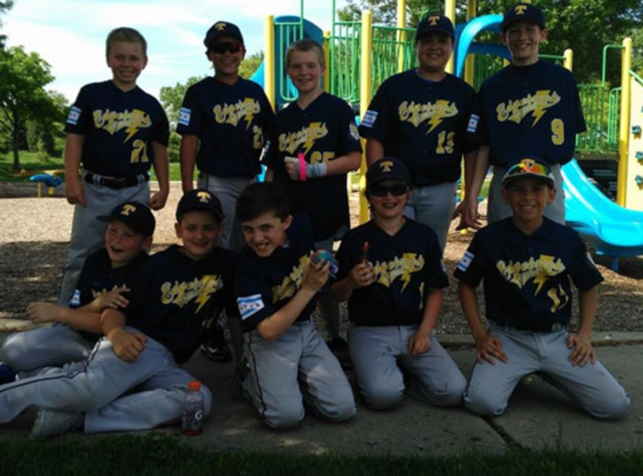 Edgebrook Thunder 12u Gold