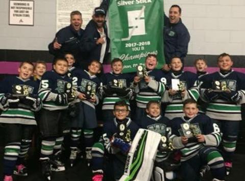 ice hockey fundraising - Woodbridge Wolfpack Squirt Hockey