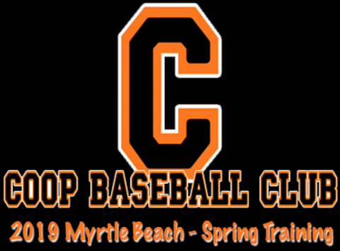 baseball fundraising - 2019 Coop Baseball Club