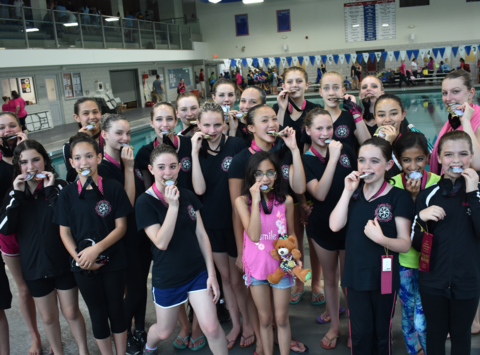 synchronized swimming fundraising - Carolina Synchro