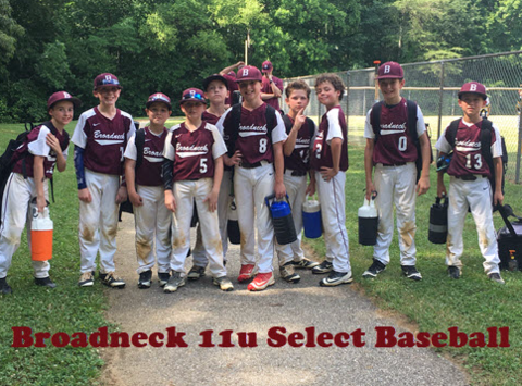 Broadneck 12u Select Baseball
