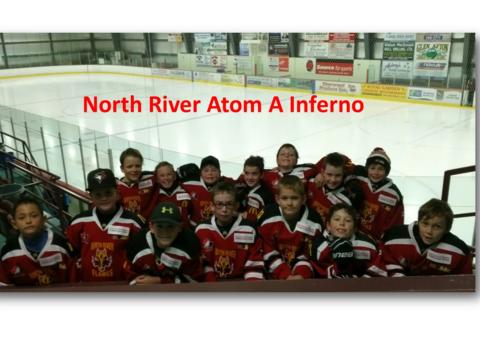 ice hockey fundraising - North River Atom A Inferno