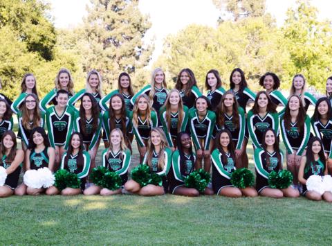 Thousand Oaks High School Cheer Team