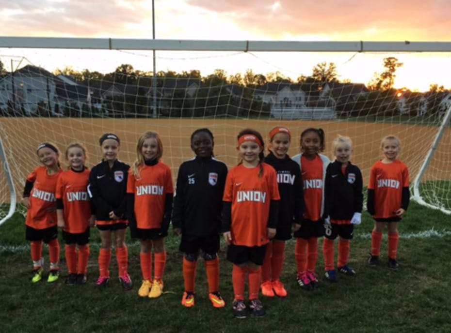 2017 Baltimore Union SC 2010 Girls Select