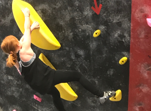 climbing fundraising - Kate Can Climb!