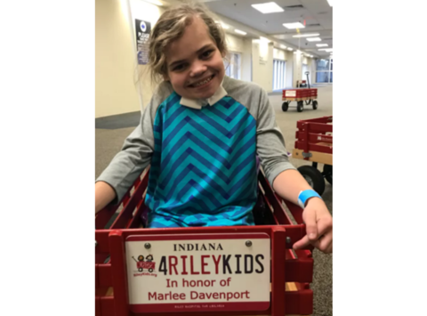 Marlee Raising Money for Riley FTK