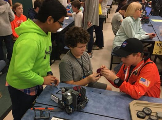 robotics fundraising - PSA VexIQ Robotics