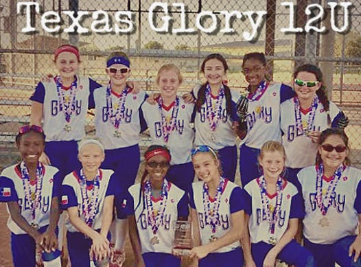 softball fundraising - Texas Glory 12U - Fastpitch Softball