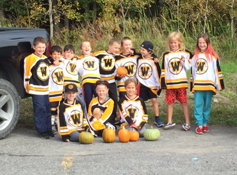 ice hockey fundraising - Warrior's Novice B2