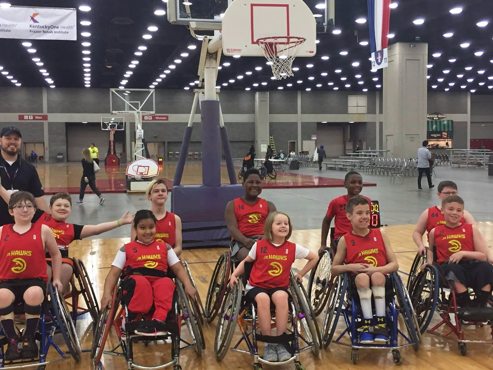 BlazeSports Wheelchair Basketball Fundraiser
