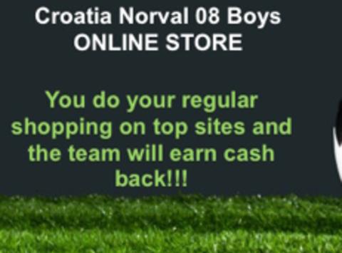 soccer fundraising - Croatia Norval 08 Boys