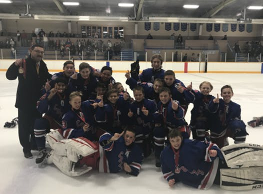 ice hockey fundraising - Cloverdale Colts PeeWee A2