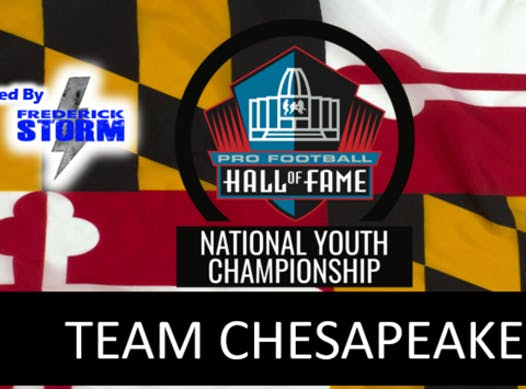 football fundraising - Team Chesapeake powered by the Frederick Storm