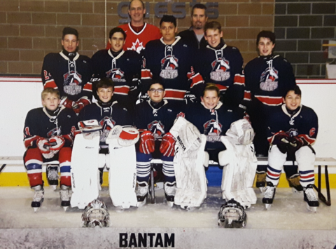 ice hockey fundraising - CMHA Cornwall Colts Bantom 2
