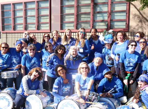 band fundraising - FogoAzul NYC All Women Brazilian drumline
