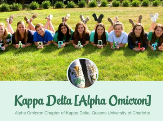 fraternities & sororities fundraising - Queens University of Charlotte Kappa Delta for Girls Scouts of America
