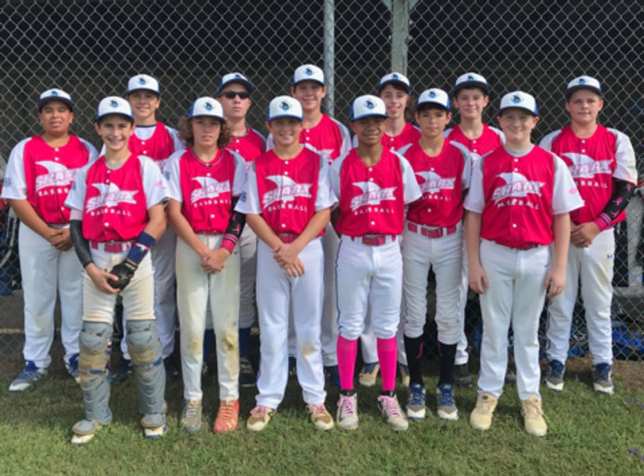 Tidewater Sharx 14U Travel Baseball Team