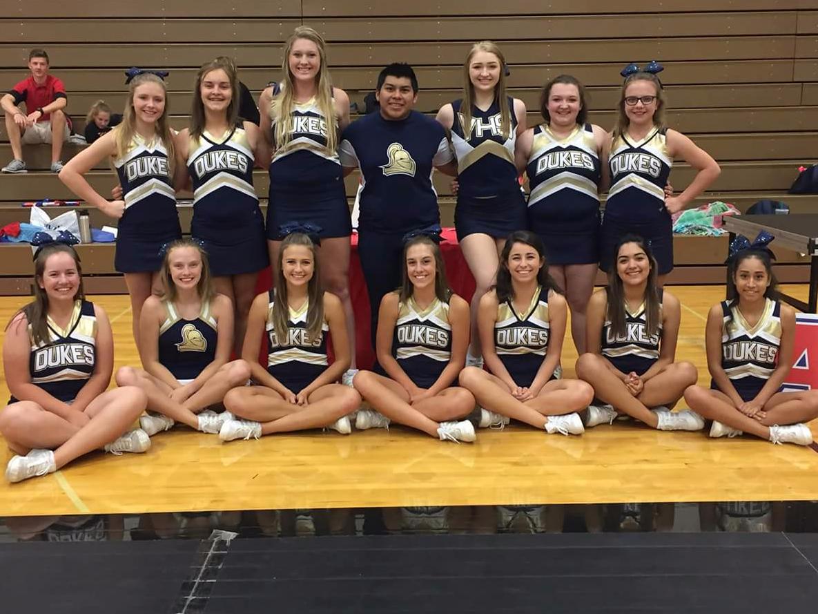 York Duke Cheerleaders
