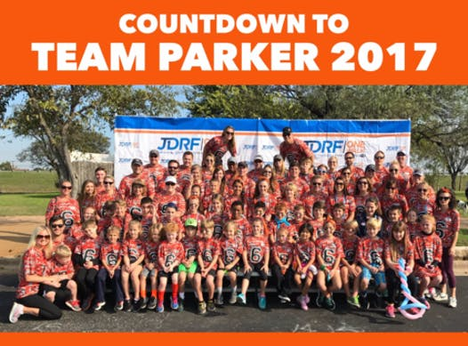 charity event - run, walk, or bike fundraising - Team Parker