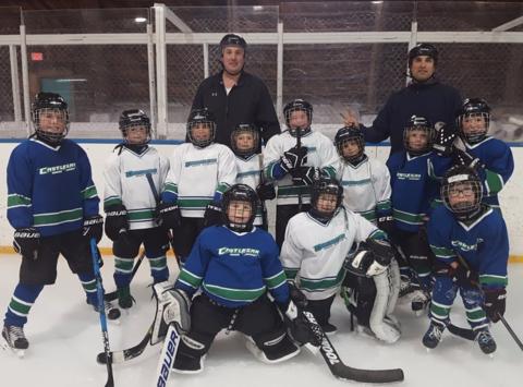 ice hockey fundraising - Castlegar Canucks