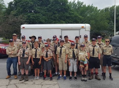 scouts fundraising - BG Troop 422