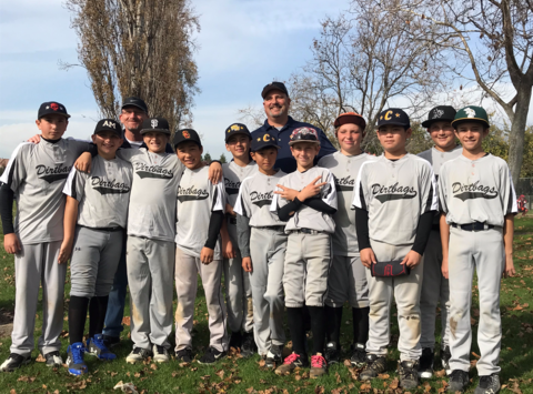baseball fundraising - Cali Dirtbags