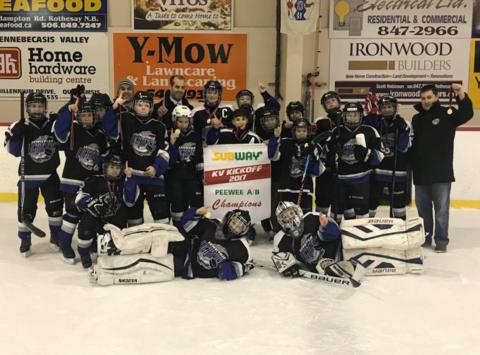 ice hockey fundraising - Lewisville Lightning Peewee A