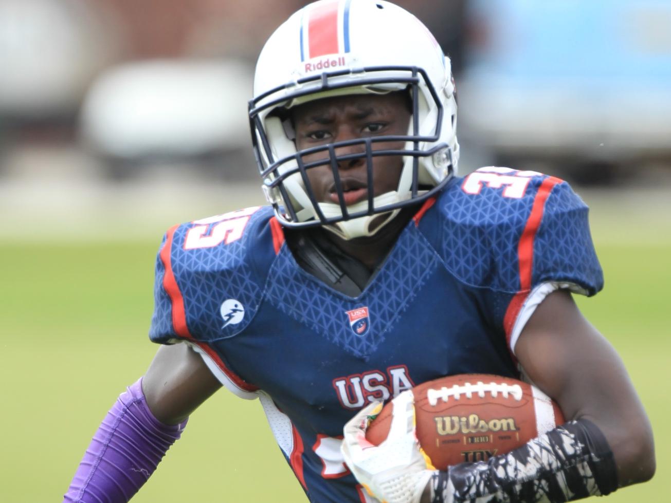 Joseph Hampton - Ready to play in the USA International Bowl