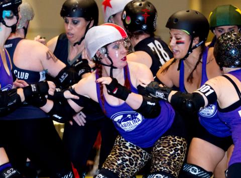 roller derby fundraising - Carolina Rollergirls