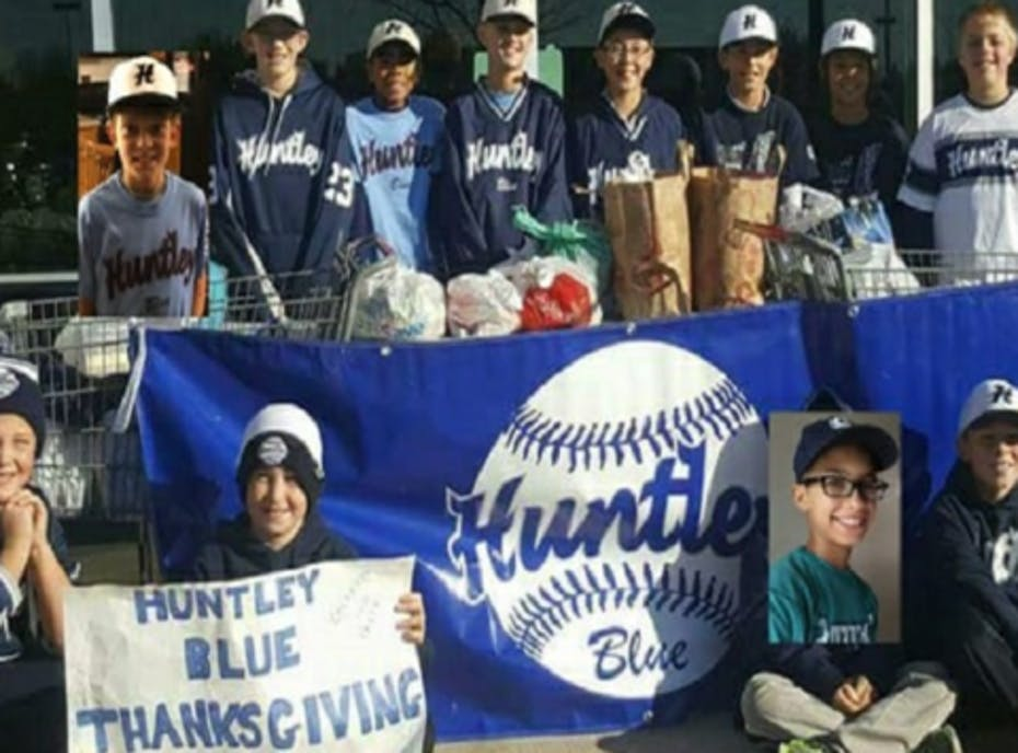 Huntley Blue Baseball~ Paplanus