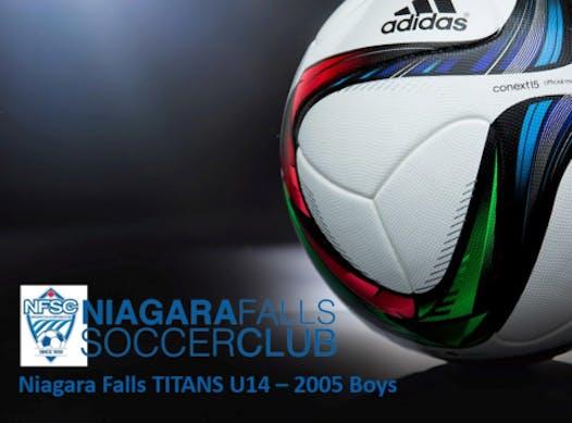 soccer fundraising - U14 TITANS - 2005 Boys
