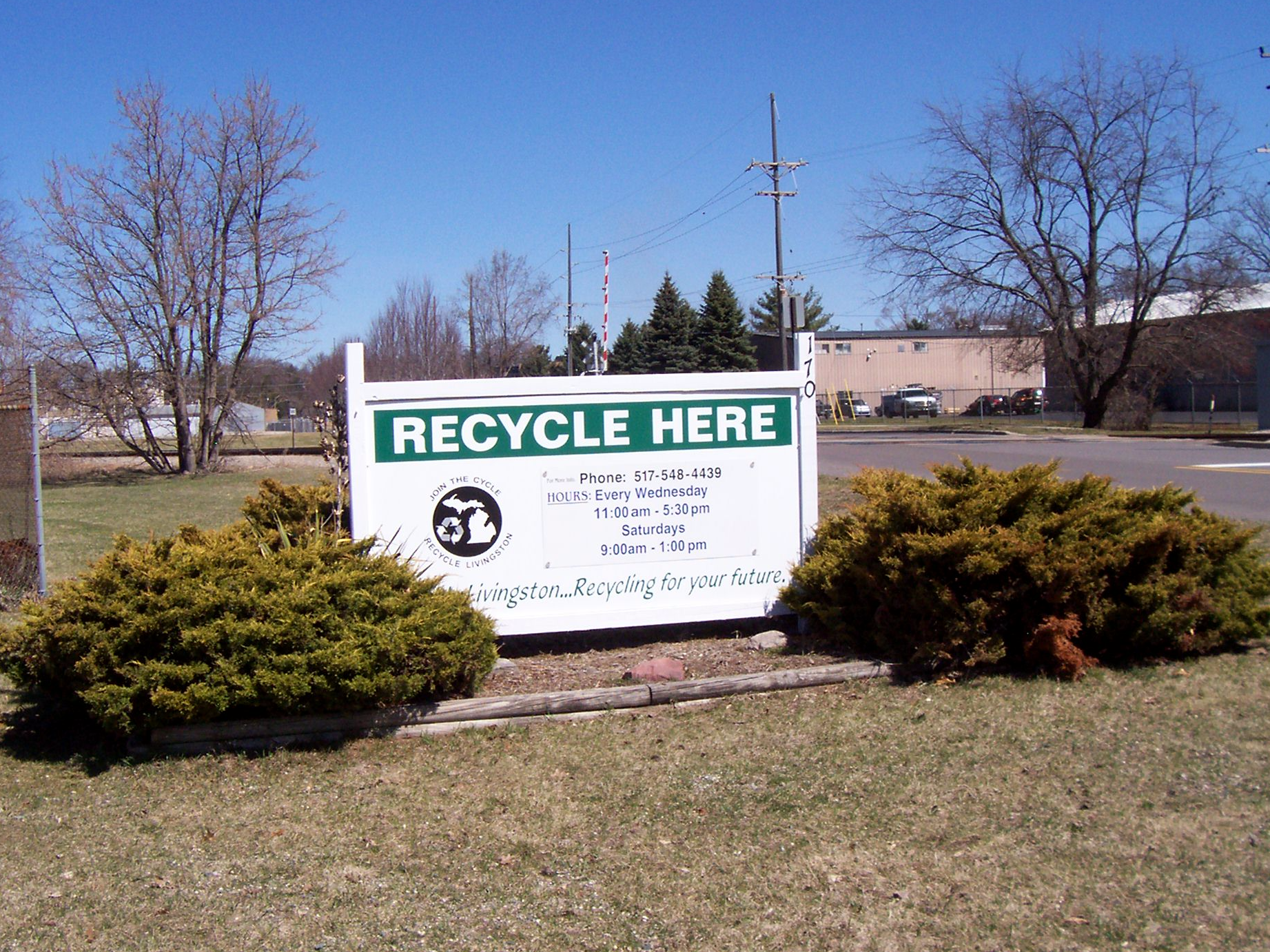 Recycle Livingston's New Building