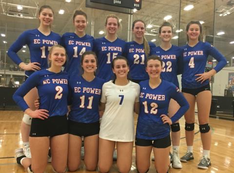 volleyball fundraising - ECPower Sapphire