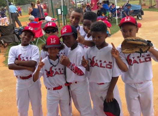 baseball fundraising - Team Halo Baseball 8U