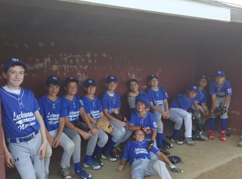 baseball fundraising - AGX 13U