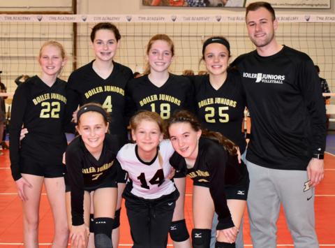 volleyball fundraising - Boiler Juniors 13-2