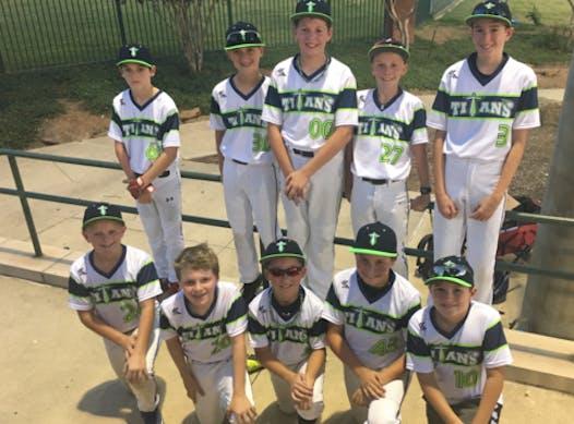 baseball fundraising - Tarrant County Titans