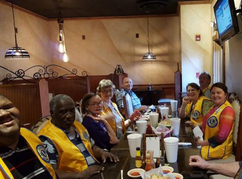 lions club fundraising - Tupelo Evenings Lions Club
