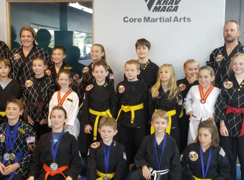 martial arts fundraising - Core Fight Team