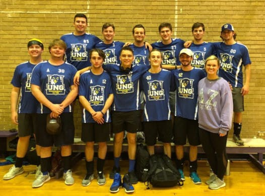school sports fundraising - University of North Georgia Club Dodgeball
