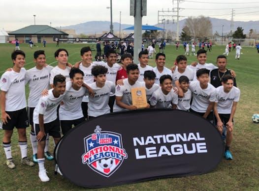 soccer fundraising - Las Vegas Sports Academy Boys 03 Silver