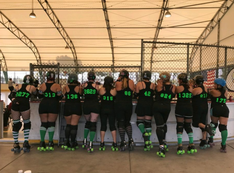 roller derby fundraising - Prison City Derby  Dames