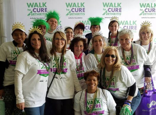 charity event - run, walk, or bike fundraising - Walk to Cure Arthritis - King's RA Queens