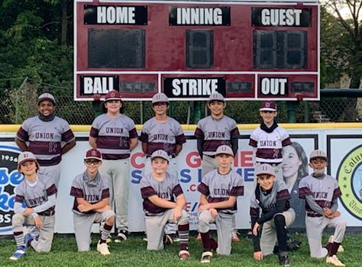 baseball fundraising - Union Bombers