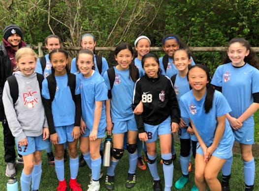 soccer fundraising - PacNW G06 ECNL