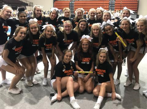cheerleading fundraising - Buckeye High School Cheerleading
